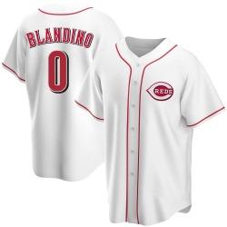 Alex Blandino Cincinnati Reds Youth Replica Home Jersey - White
