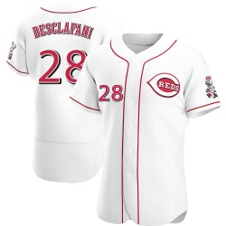 Anthony DeSclafani Cincinnati Reds Men's Authentic Home Jersey - White
