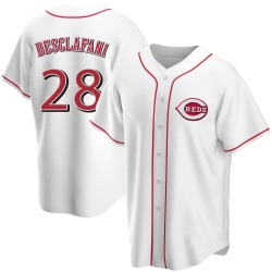 Anthony DeSclafani Cincinnati Reds Men's Replica Home Jersey - White