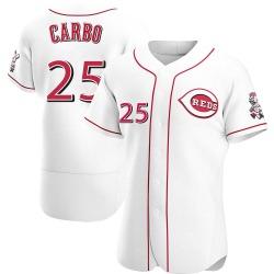 Bernie Carbo Cincinnati Reds Men's Authentic Home Jersey - White