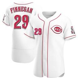 Brandon Finnegan Cincinnati Reds Men's Authentic Home Jersey - White