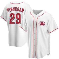 Brandon Finnegan Cincinnati Reds Youth Replica Home Jersey - White