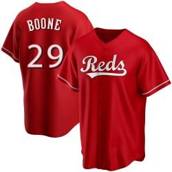 Bret Boone Cincinnati Reds Men's Replica Alternate Jersey - Red