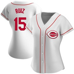 Chico Ruiz Cincinnati Reds Women's Replica Home Jersey - White
