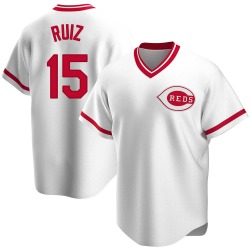 Chico Ruiz Cincinnati Reds Youth Replica Home Cooperstown Collection Jersey - White