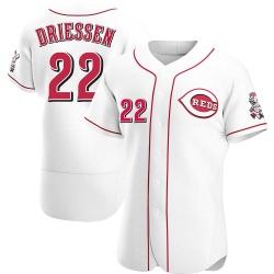 Dan Driessen Cincinnati Reds Men's Authentic Home Jersey - White
