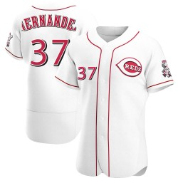 David Hernandez Cincinnati Reds Men's Authentic Home Jersey - White