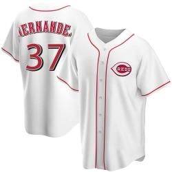 David Hernandez Cincinnati Reds Men's Replica Home Jersey - White