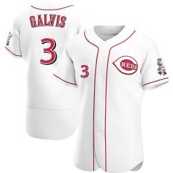 Freddy Galvis Cincinnati Reds Men's Authentic Home Jersey - White