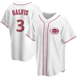 Freddy Galvis Cincinnati Reds Men's Replica Home Jersey - White