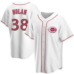 Gary Nolan Cincinnati Reds Men's Replica Home Jersey - White
