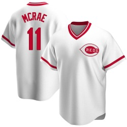 Hal Mcrae Cincinnati Reds Youth Replica Home Cooperstown Collection Jersey - White