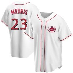 Hal Morris Cincinnati Reds Men's Replica Home Jersey - White