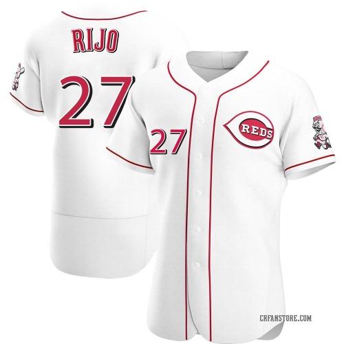 Jose Rijo Cincinnati Reds Men's Authentic Home Jersey - White