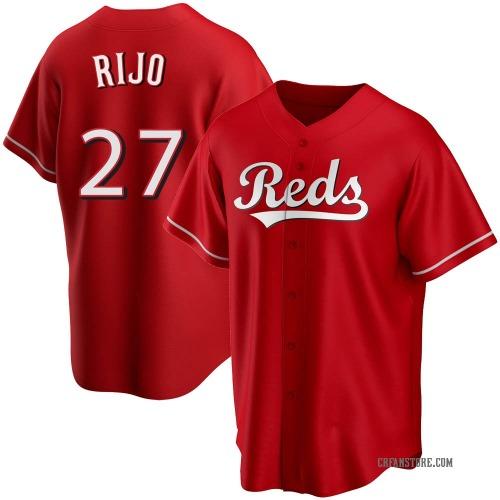 Jose Rijo Cincinnati Reds Men's Replica Alternate Jersey - Red