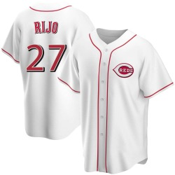 Jose Rijo Cincinnati Reds Youth Replica Home Jersey - White