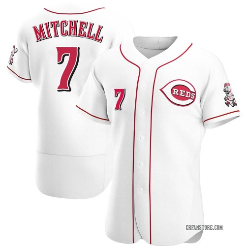 Kevin Mitchell Cincinnati Reds Men's Authentic Home Jersey - White