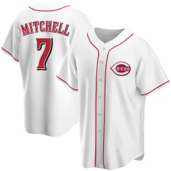 Kevin Mitchell Cincinnati Reds Men's Replica Home Jersey - White