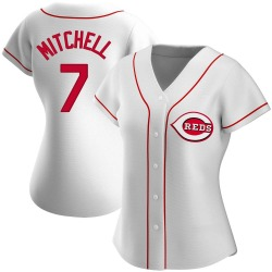 Kevin Mitchell Cincinnati Reds Women's Replica Home Jersey - White
