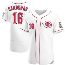 Leo Cardenas Cincinnati Reds Men's Authentic Home Jersey - White