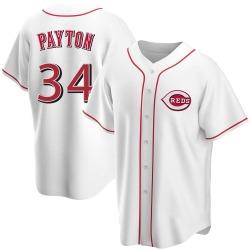 Mark Payton Cincinnati Reds Men's Replica Home Jersey - White