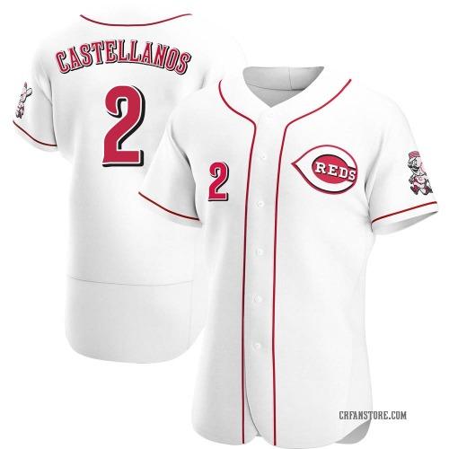 Nicholas Castellanos Cincinnati Reds Men's Authentic Home Jersey - White