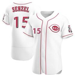 Nick Senzel Cincinnati Reds Men's Authentic Home Jersey - White
