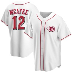 Quincy Mcafee Cincinnati Reds Youth Replica Home Jersey - White