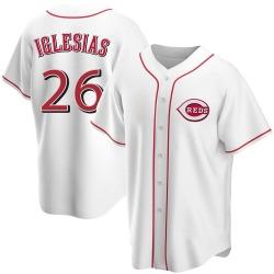 Raisel Iglesias Cincinnati Reds Youth Replica Home Jersey - White