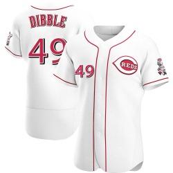 Rob Dibble Cincinnati Reds Men's Authentic Home Jersey - White