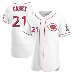 Sean Casey Cincinnati Reds Men's Authentic Home Jersey - White