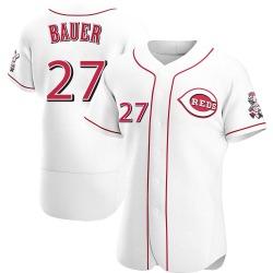 Trevor Bauer Cincinnati Reds Men's Authentic Home Jersey - White
