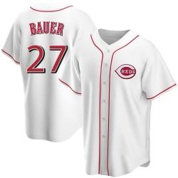 Trevor Bauer Cincinnati Reds Youth Replica Home Jersey - White