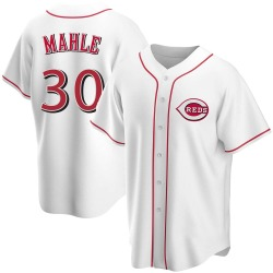 Tyler Mahle Cincinnati Reds Youth Replica Home Jersey - White