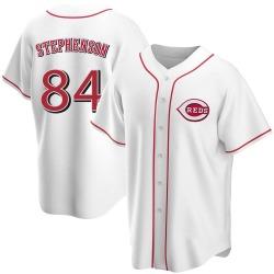 Tyler Stephenson Cincinnati Reds Men's Replica Home Jersey - White