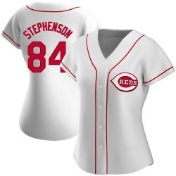Tyler Stephenson Cincinnati Reds Women's Replica Home Jersey - White