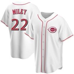 Wade Miley Cincinnati Reds Youth Replica Home Jersey - White