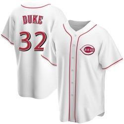 Zach Duke Cincinnati Reds Men's Replica Home Jersey - White